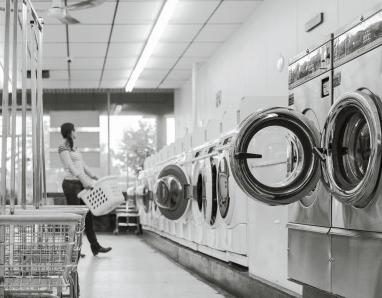 干洗店时尚大气名